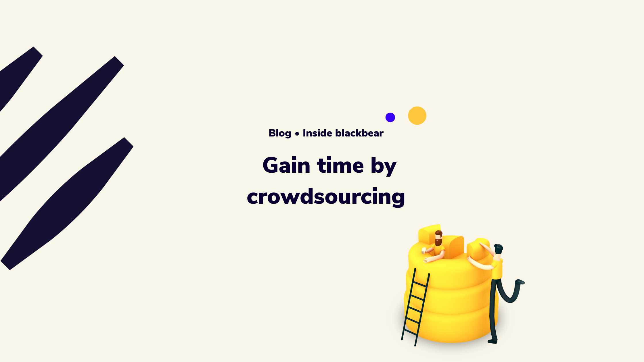 The benefit of crowdsourcing